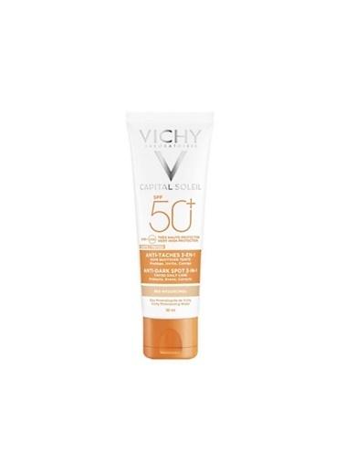 Vichy  Ideal Soleil Spf50 Tinted Anti Dark Spots Care 50Ml Renksiz